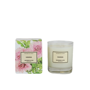 George and Edi Candle Havana - Isabel Harris