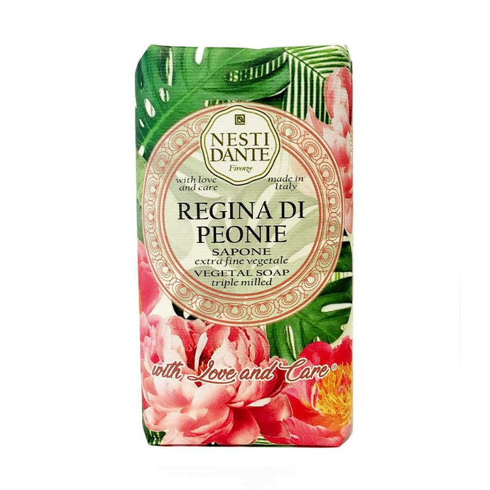 Nesti Dante Soap  Regina di Peonie 250gm bar - Isabel Harris