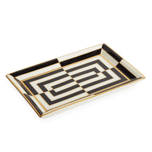 Jonathan Adler Op Art Rectangle Dish - Isabel Harris