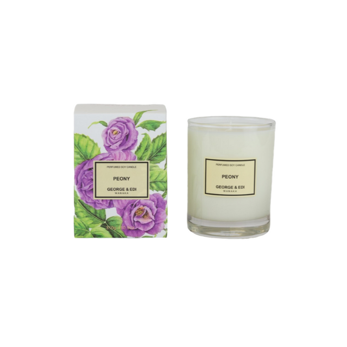 George and Edi Candle Peony - Isabel Harris