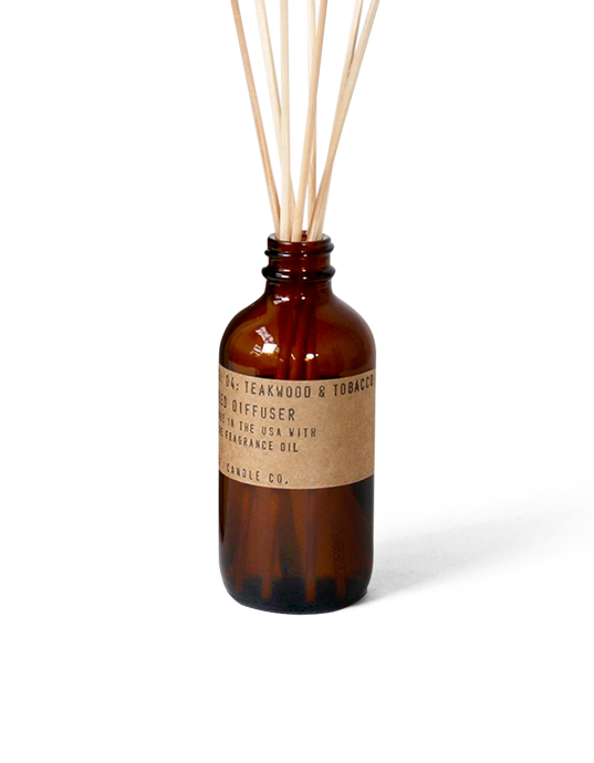 PF Candle Co Reed Diffuser Teakwood and Tobacco - Isabel Harris