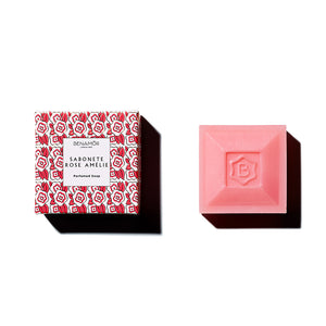 Benamor Soap Rose Amelie 100gm - Isabel Harris