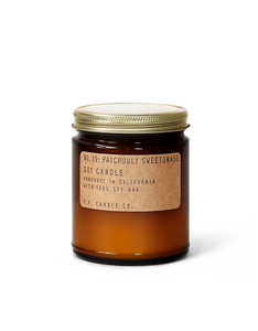 PF Candle Co. Patchouli Sweetgrass Candle - Isabel Harris