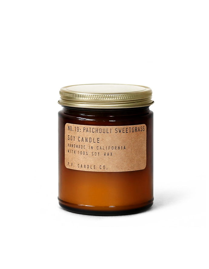 PF Candle Co. Patchouli Sweetgrass - Isabel Harris