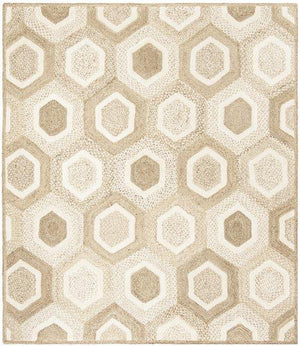Natural Fiber NF881F GREY / IVORY