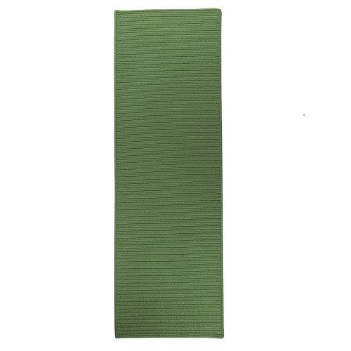 Reversible Flat-Braid Moss Green RT68
