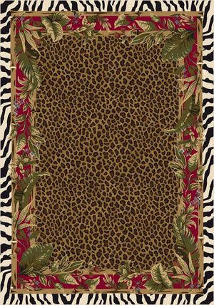 Jungle Safari Ruby Leopard and Zebra c8000