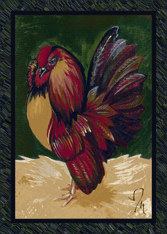 Provincial Rooster Emerald C11000