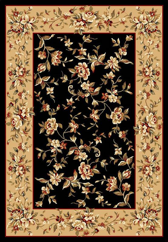 Cambridge 7336 Black/Beige Floral Delight