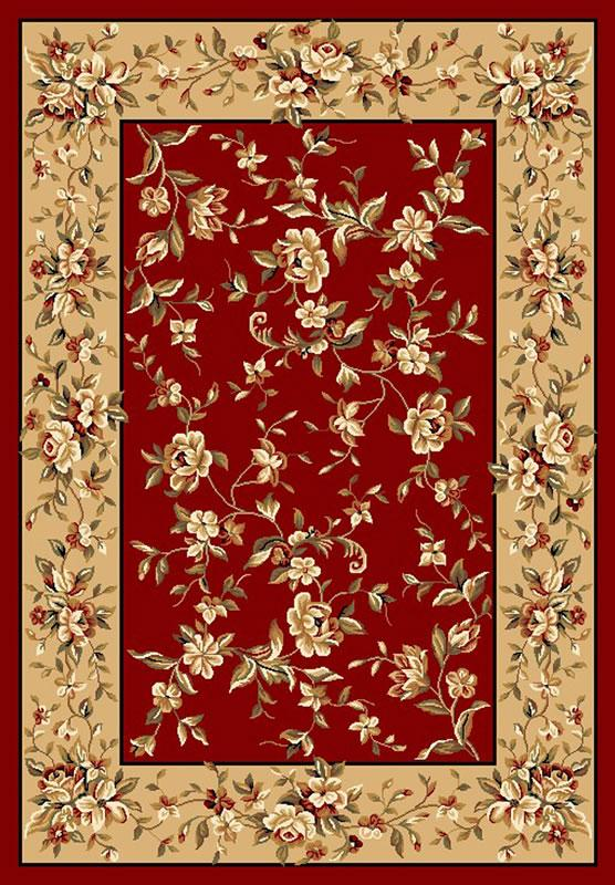 Cambridge 7337 Red/Beige Floral Delight