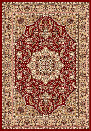 Cambridge 7326 Red/Beige Kashan Medallion