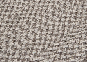 Natural Wool Houndstooth Latte HD32