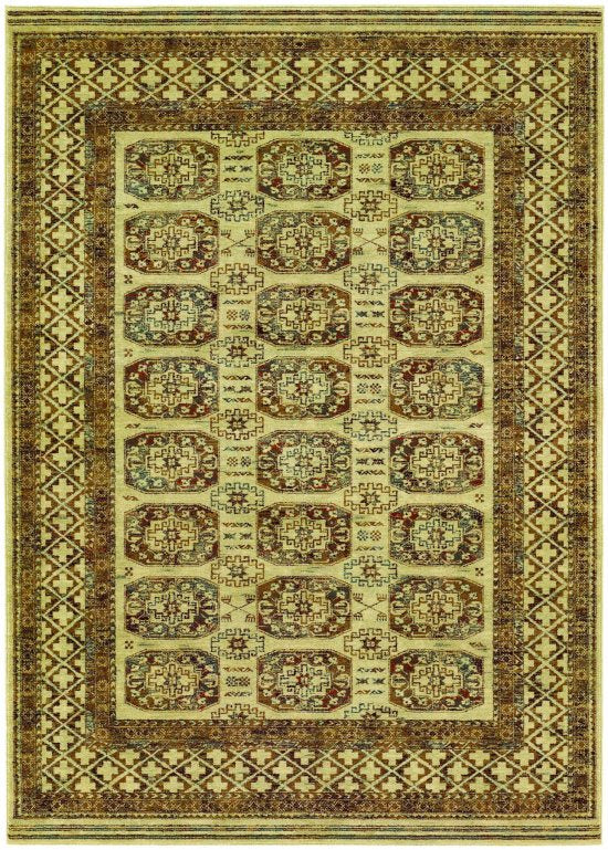 Timeless Treasures Afghan Panel Antique Cream