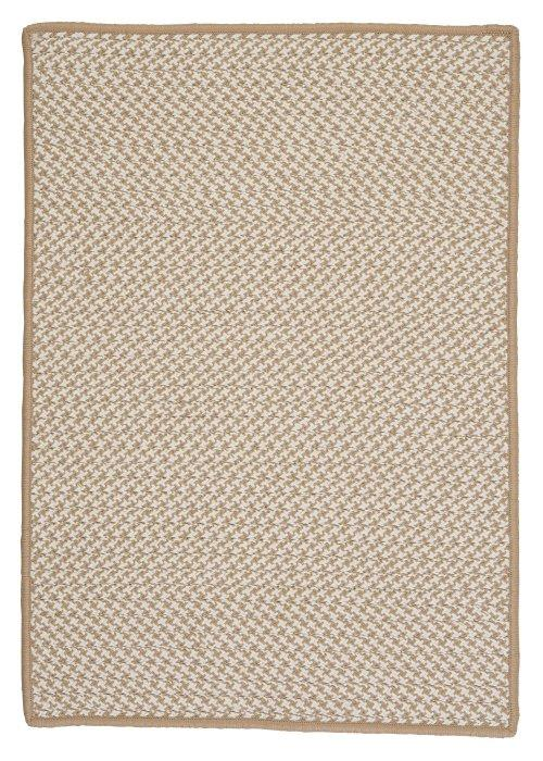 Outdoor Houndstooth Tweed Cuban Sand OT89