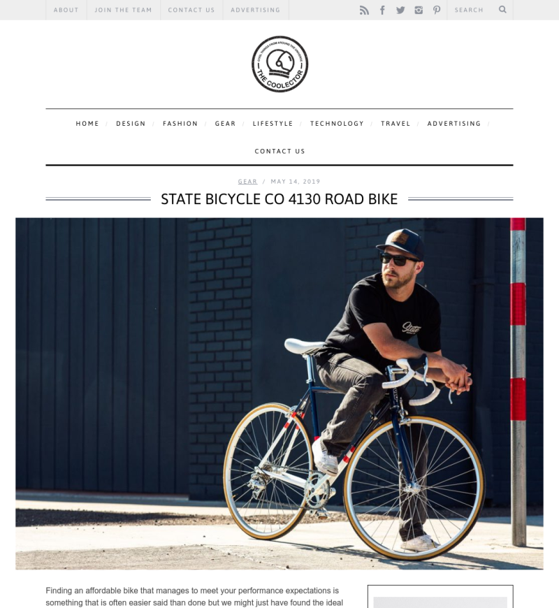 b614338ffda State Bicycle Co. - Press / Media Reviews   State Bicycle Co.