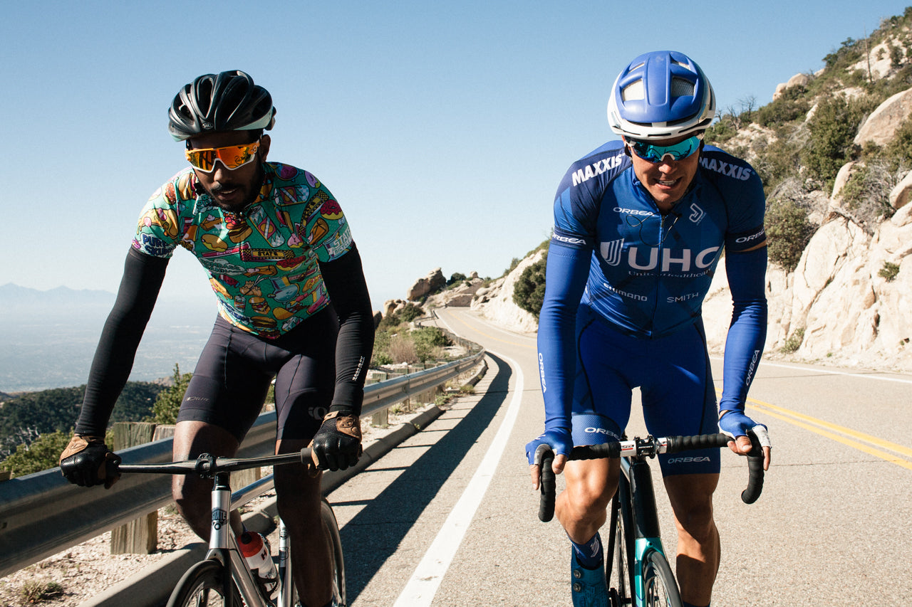 Riding Fixed, Up Mountains, with Pros – Episode I: Mount