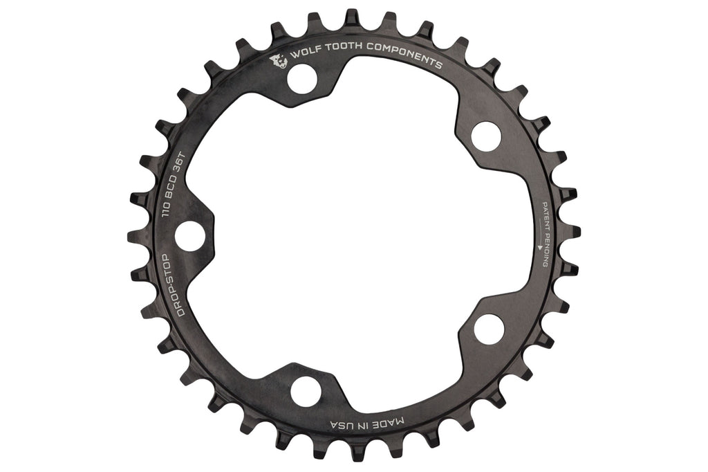 110 BCD Gravel / CX / Road Chainrings by Wolf Tooth Components