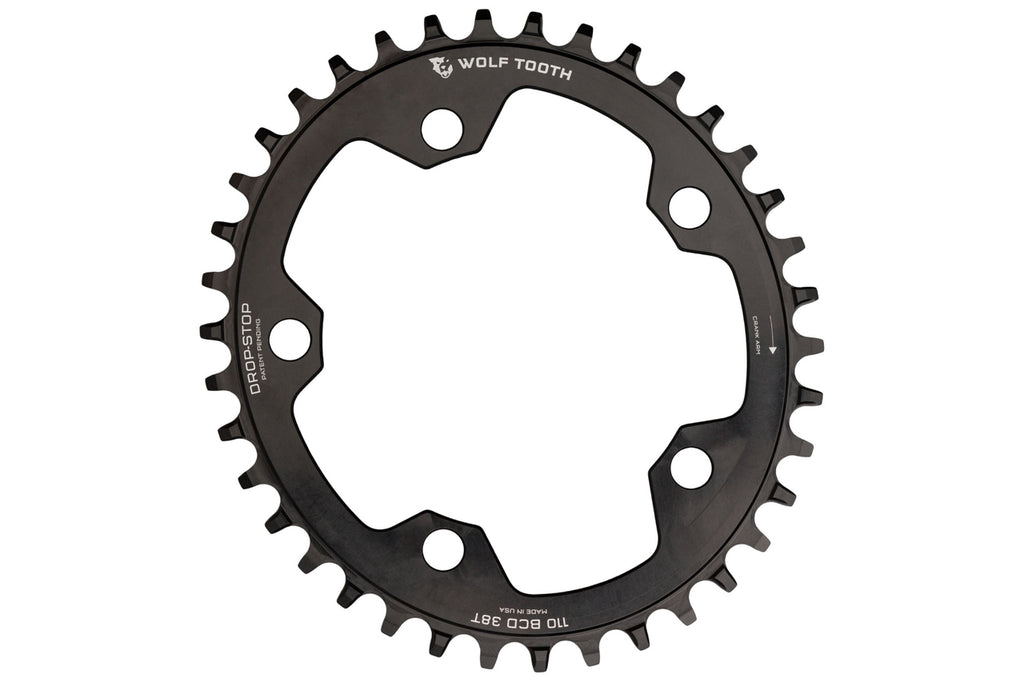 Elliptical 110 BCD Gravel / CX / Road Chainrings by Wolf Tooth Components