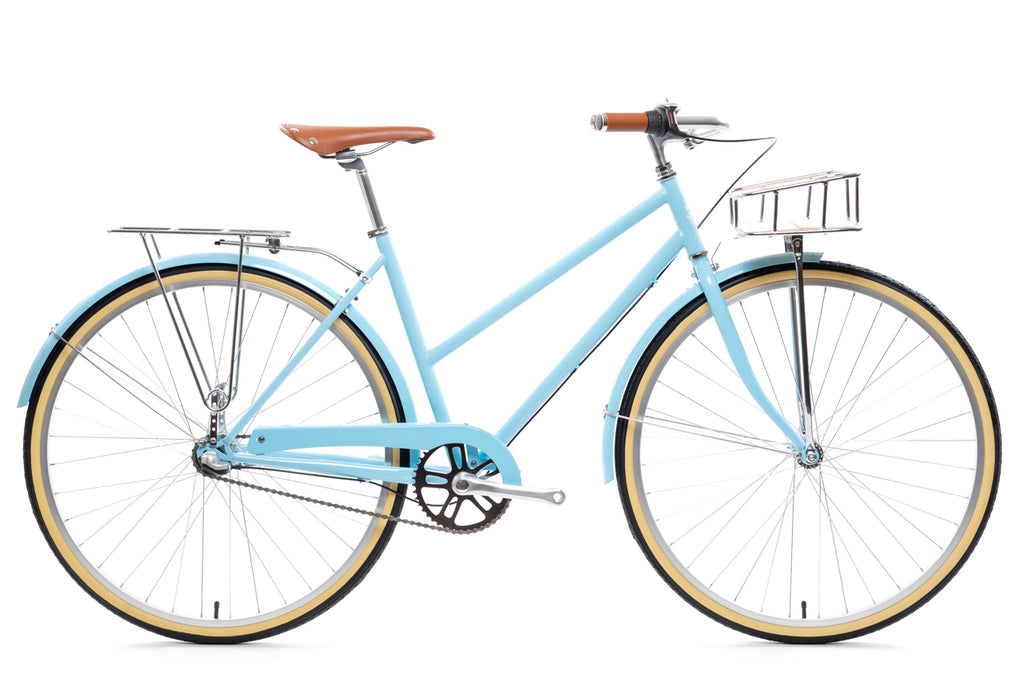City Bike - The Azure Deluxe (3 Speed)