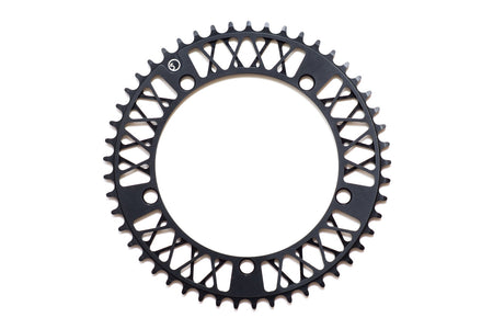 Factory Five - F5 Lattice Chainring - 47t , 48t , 49t , 51t (Anodized Black)