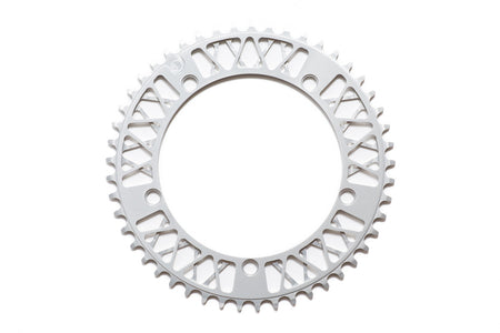 Factory Five - F5 Lattice Chainring - 47t , 48t , 49t , 51t (Anodized Silver)