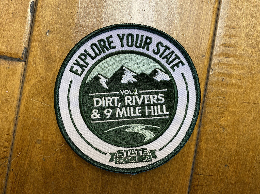 Patch: Explore Your State Vol. 2 - Dirt, Rivers & 9 Mile Hill