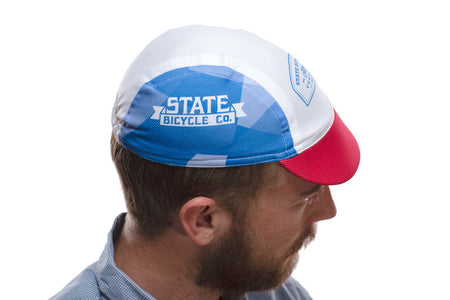 'State Bicycle Co.' Red / White / Blue Cap - State Bicycle Co.