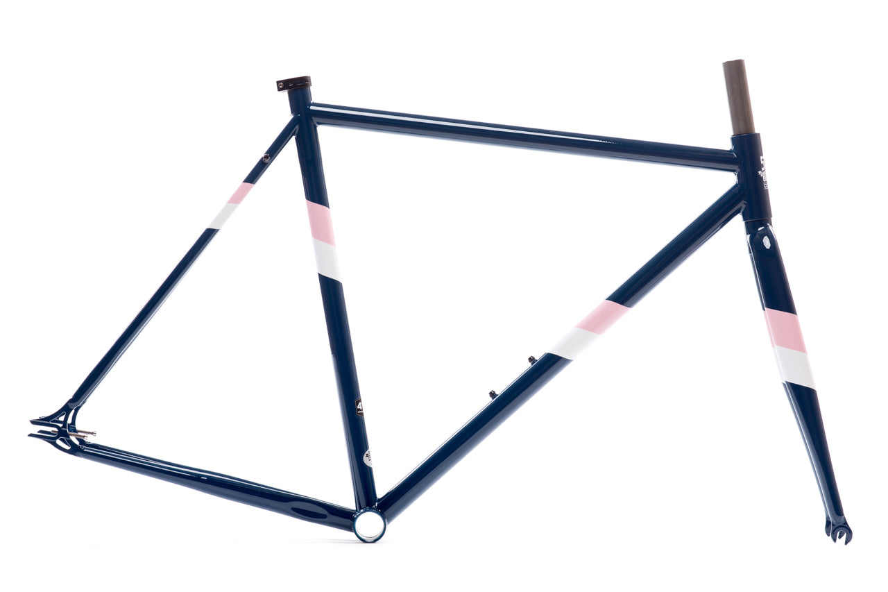 Rutherford 3 - Navey & Pink - Double Butted 4130 Chromoly Steel ...