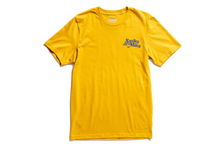 "State Bicycle Co. - ""Smiles for Miles"" - Premium T-Shirt (Mustard)"
