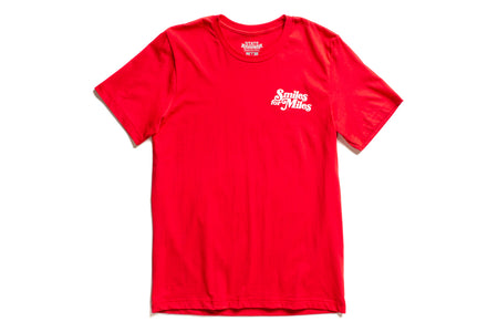 "State Bicycle Co. - ""Smiles for Miles"" - Premium T-Shirt (Red)"