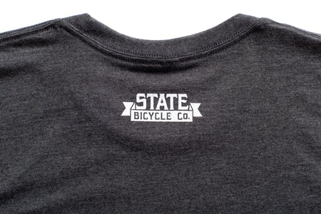 "State Bicycle Co. - ""Explore Your State"" - Premium T-Shirt (Gray)"