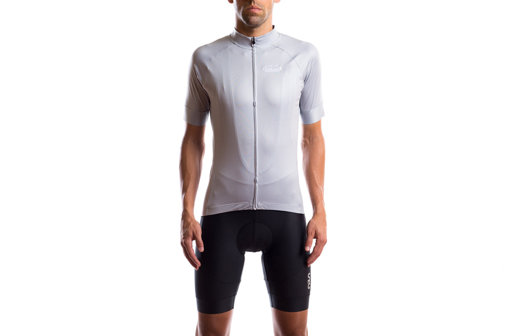 State Bicycle Co. - Black Label Jersey - Pigeon Gray