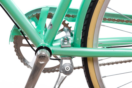 Bolt-On City Bike Kickstand