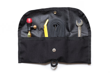 SBC x Road Runner - Bike Roll/Pouch & Tool Set (Black)