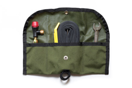 SBC x Road Runner - Bike Roll/Pouch & Tool Set (Army Green)