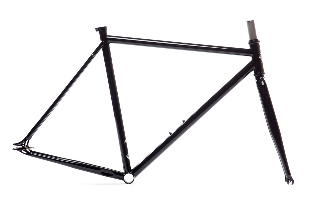 Gloss Black - Double Butted 4130 Chromoly Steel Tubing