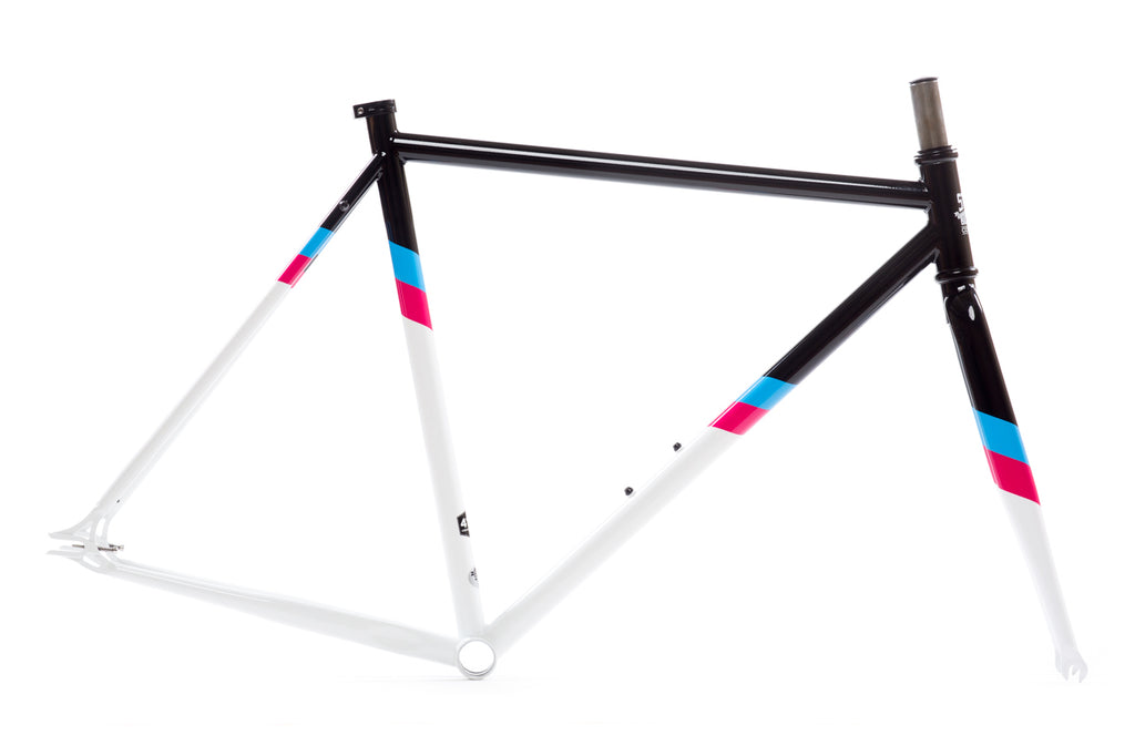 La Fleur 3 Frame Set - Double Butted 4130 Chromoly Steel Tubing