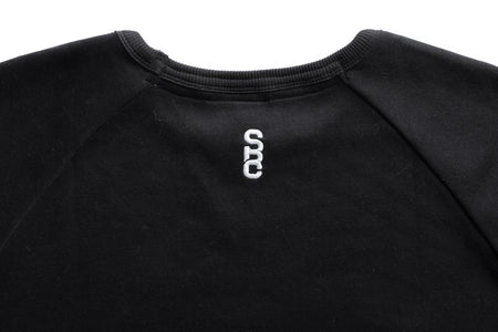 "State Bicycle Co. - ""Explore Your State"" - Slim Fit Pullover Crew Neck (Black)"