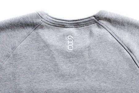 "State Bicycle Co. - ""Explore Your State"" - Slim Fit Pullover Crew Neck (Gray)"