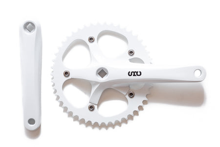 State Bicycle Co. - 'SBC' Fixed Gear / Single Speed Crankset (4 Colors Available)