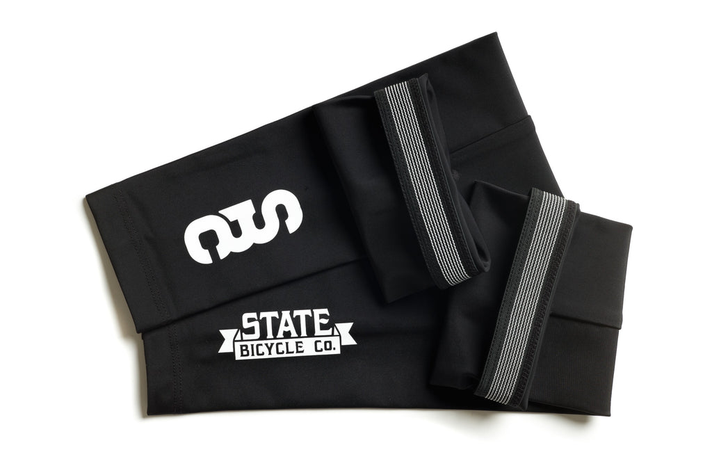 State Bicycle Co. - Black Label Arm Warmers (Black)