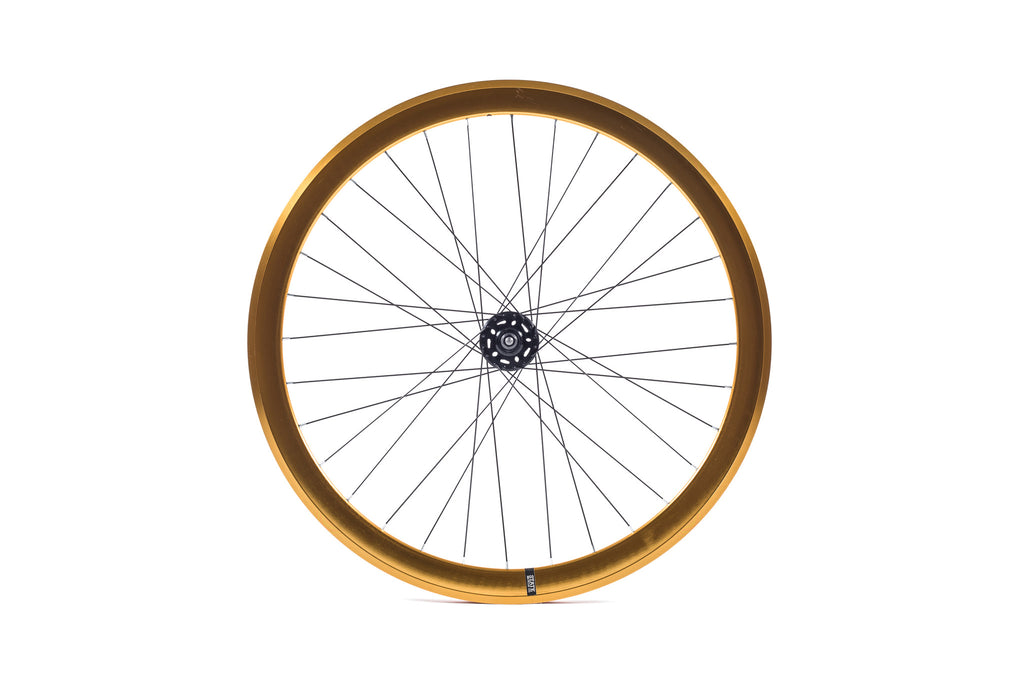State Bicycle Co. - 40mm Deep V Gold Wheel Set