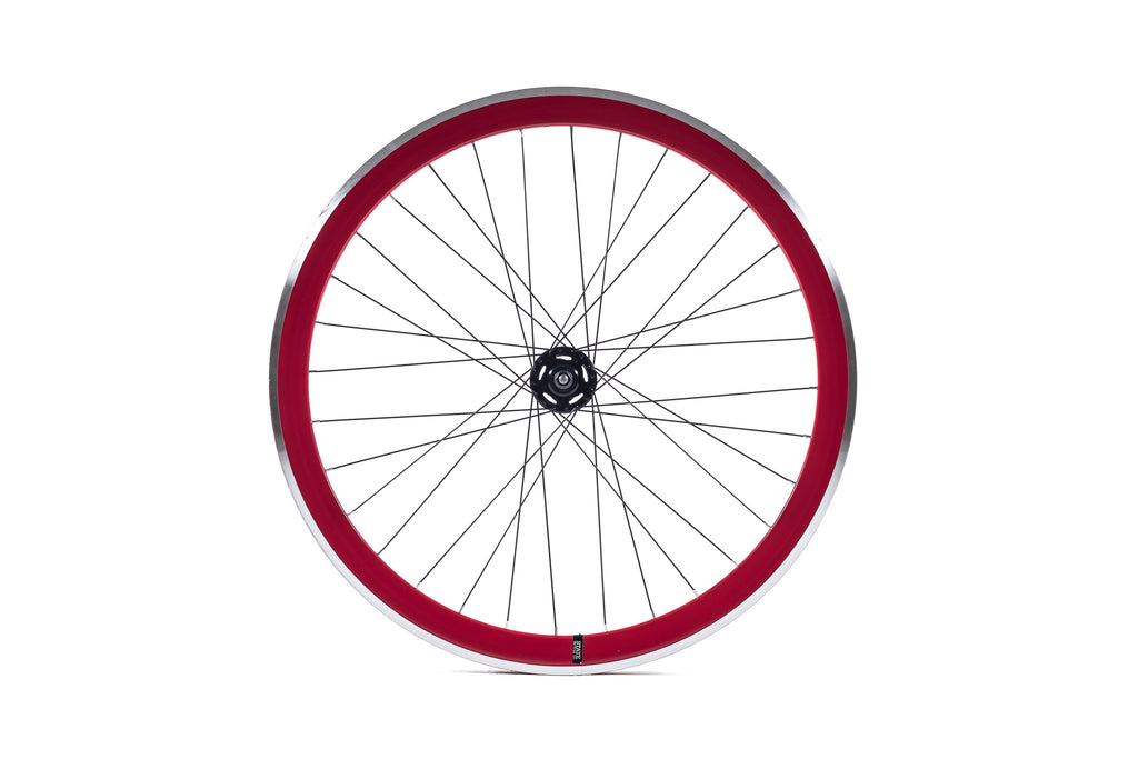 State Bicycle Co. - 40mm Deep V Red Wheel Set