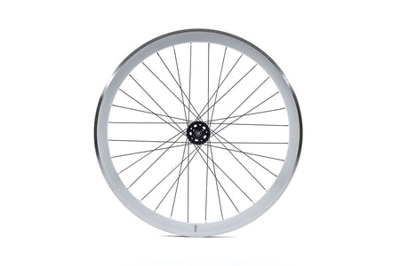 State Bicycle Co. - 40mm Deep V White Wheel Set