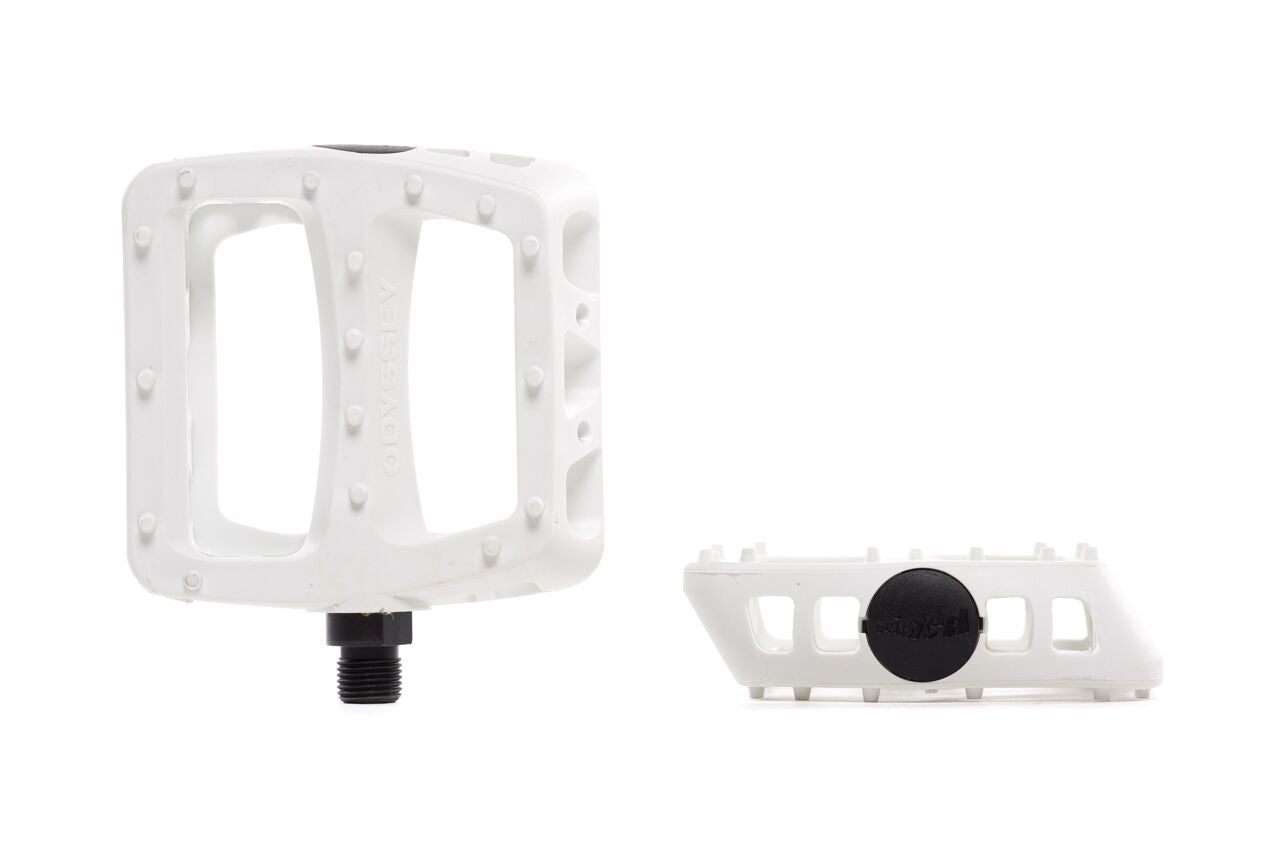State Bicycle Co.Odyssey Twisted Pro Pedals White