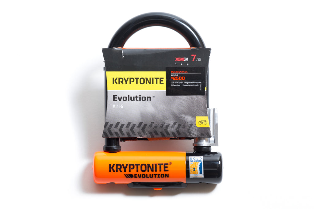 Kryptonite Evolution™ Mini-5 U-Lock