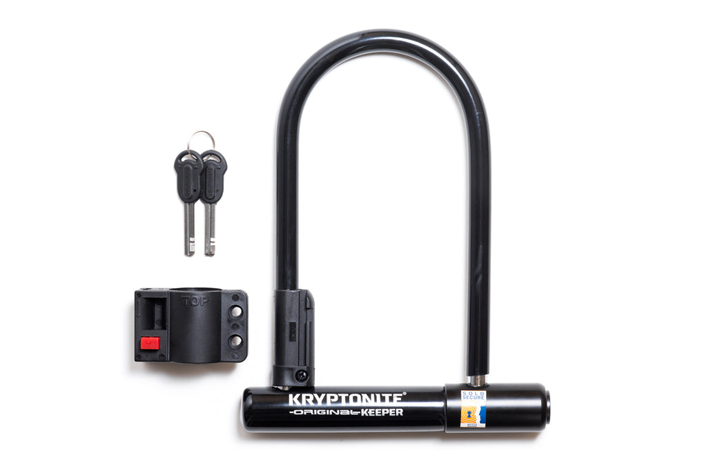 Kryptonite Keeper Standard U-Lock: 4 x 8