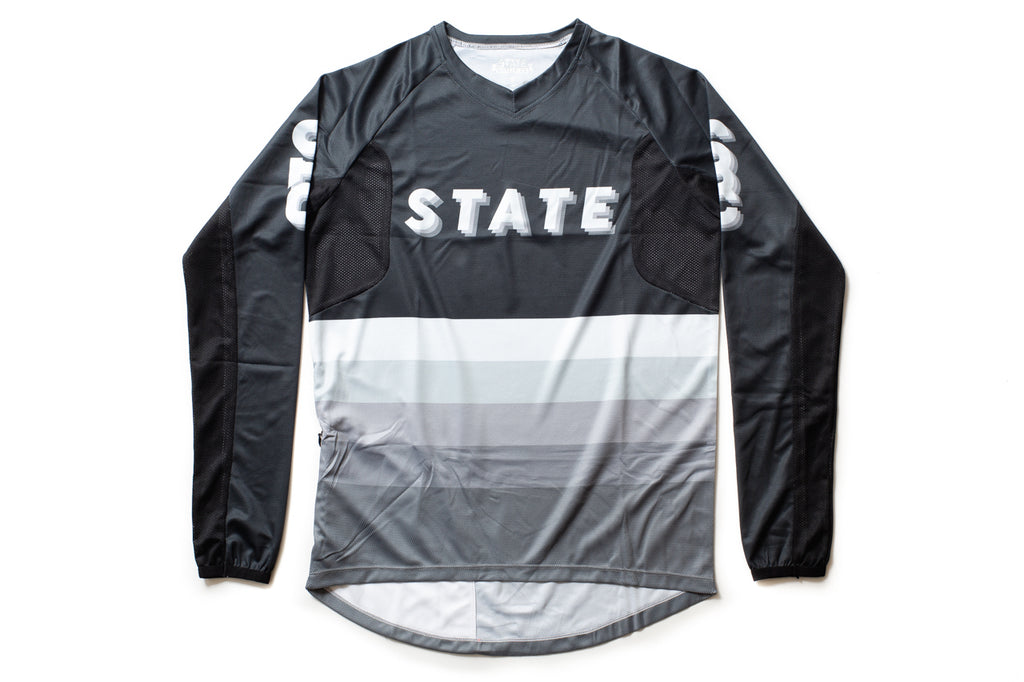 State Bicycle Co. - All-Road Jersey (Pigeon Gray)  - Sustainable Clothing Collection