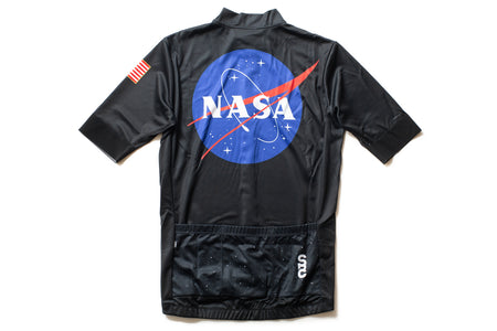 State Bicycle Co. - Astronaut Jersey- Sustainable Clothing Collection (Black)
