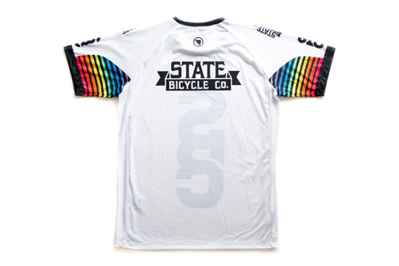 "State Bicycle Co. - ""Team Tech"" T-Shirt by Endura (White)"